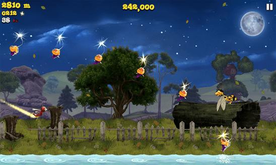 Firefly Runner для Windows Phone