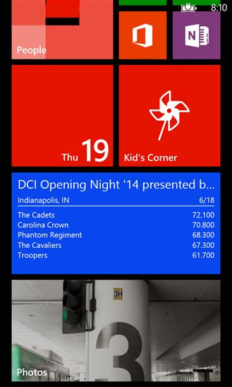 Скачать DrumScorps для HTC 7 Mozart