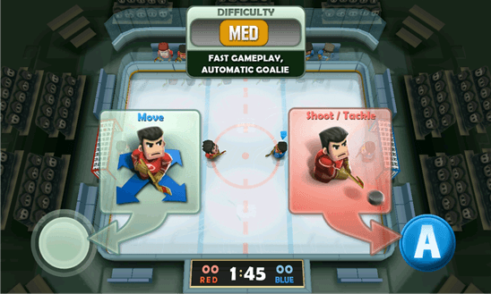 Скачать Ice Rage: Hockey для Samsung ATIV S