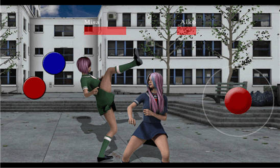 Скачать Schoolgirl Fighting Game для Samsung Focus S