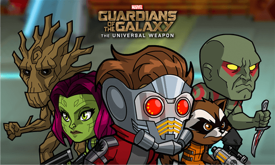 Скачать Guardians of the Galaxy: TUW (WP) для HTC Titan