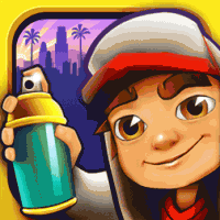 Subway Surfers для Fujitsu IS12T