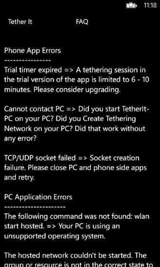 Скачать Tether It для Q-Mobile Storm W610