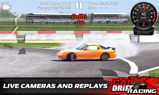 CarX Drift Racing для Windows Phone