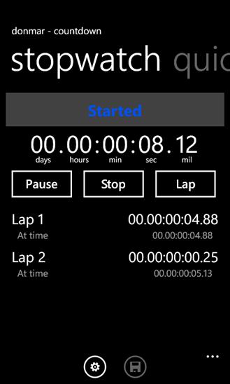 Скачать Countdown для Alcatel One Touch View