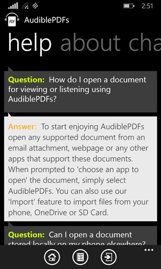 Скачать AudiblePDFs для Nokia Lumia 710
