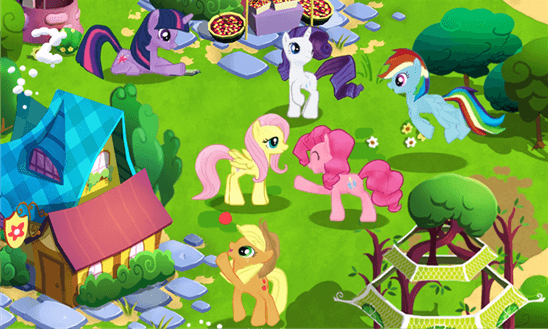 Скачать MY LITTLE PONY: Дружба – это чудо для HTC Titan