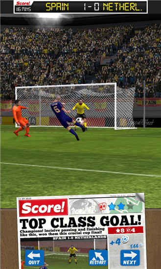 Score! World Goals для Windows Phone