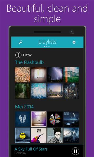 Скачать OneMusic для HTC 8S