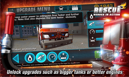 Rescue – Heroes in Action для Windows Phone