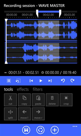 Wave Master для Windows Phone