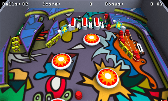 Скачать Pinball League: The Juggler для Samsung Omnia M