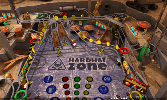 Pinball League: HardHat Zone для Windows Phone