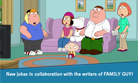 Family Guy The Quest for Stuff для Windows Phone