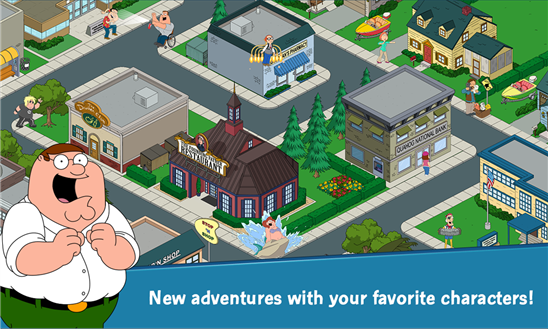 Скачать Family Guy The Quest for Stuff для Nokia Lumia 505