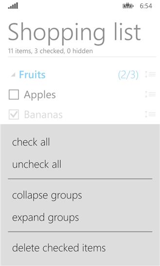 Скачать GoodAp Checklist для Nokia Lumia 1520