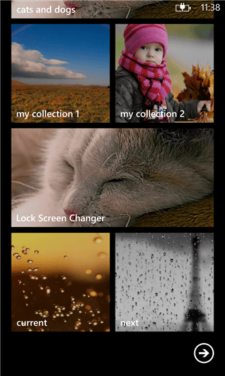 Скачать Lock Screen Changer  для Nokia Lumia 520