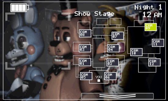 Five Nights at Freddys 2 для Windows Phone