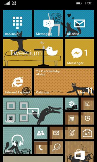 Скачать Start Design для Nokia Lumia 635