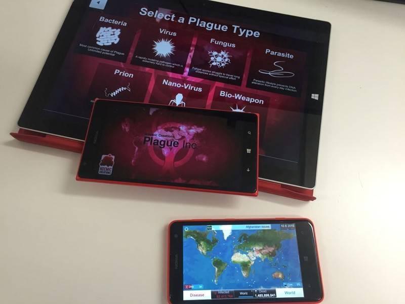 Скачать plague inc на windows 10 mobile.