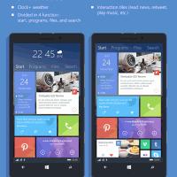 Концепт Windows Phone 10