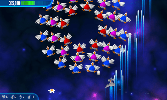 Скачать Chicken Invaders 3 для Nokia Lumia 820