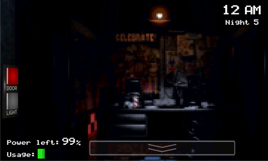 Five Nights at Freddys для Windows Phone