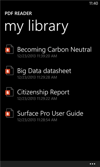 Скачать PDF Reader для Nokia Lumia 636
