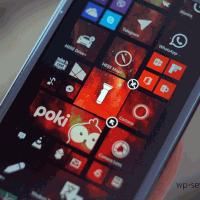 Как включить фонарик из центра уведомлений Windows Phone 8.1