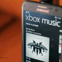 Вышло обновление для Xbox Music