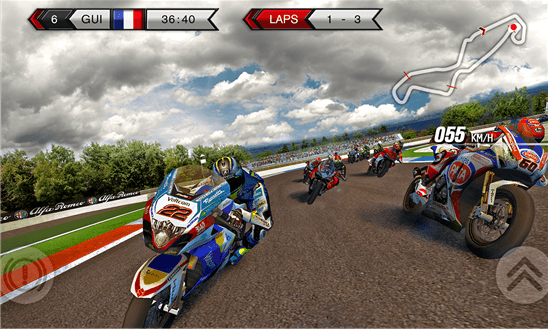 Скачать SBK15 Official Mobile Game для Nokia Lumia 520