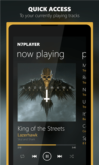 Скачать n7player Music Player для HTC One M8 for Windows
