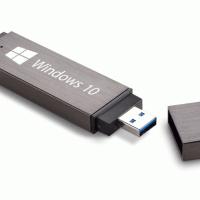 Microsoft будет продавать издания Windows 10 Pro и Home на USB-накопителях