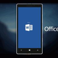 Видео-обзор новых офисных приложений в Windows 10 Mobile