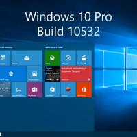 Видео-обзор Windows 10 Pro Build 10532