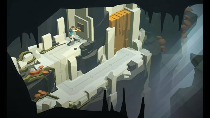 Скачать Lara Croft GO для HTC Titan