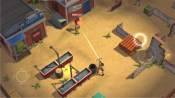 Space Marshals для Windows Phone