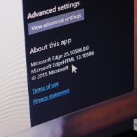 Edge в Windows 10 11082 уже содержит в себе код для расширений