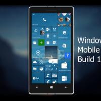 Видео-обзор Windows 10 Mobile 10586.29