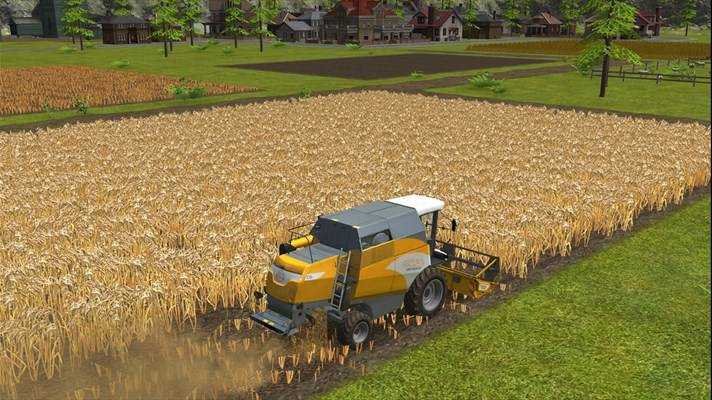 Скачать Farming Simulator 16 для ZTE Tania