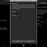 Внутренние билды Windows 10 Mobile Redstone получили новые возможности центра обновлений