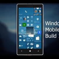 Видео-обзор Windows 10 Mobile 14322