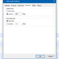 OneDrive на ПК теперь позволяет ограничить скорость передачи данных