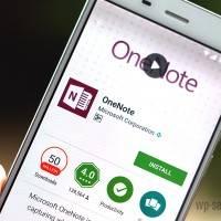 Microsoft тестирует темную тему в OneNote на Android