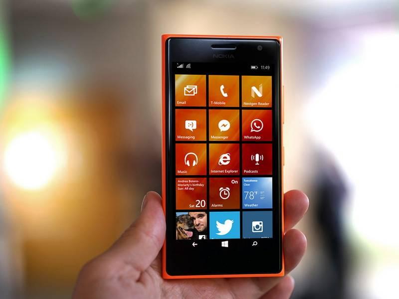 Lumia 735, Windows Phone 8.1