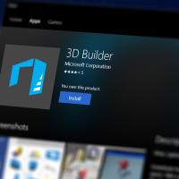3D Builder теперь работает и на Windows 10 Mobile