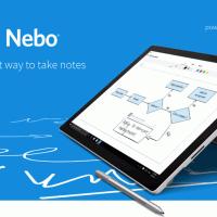 Приложение для заметок Nebo доступно бесплатно