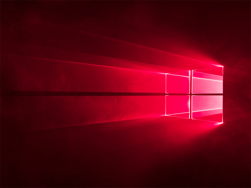 Windows 10 - RED