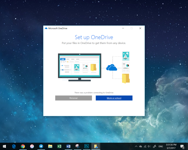 OneDrive Outage
