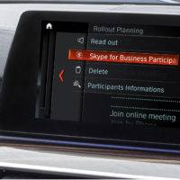 BMW встроит Skype в свои автомобили